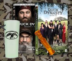 Frugal Mom and Wife: Duck Dynasty Prize Pack Giveaway! (5 Monthly Winners)