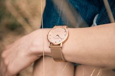 Rosegold watch, Shore Projects