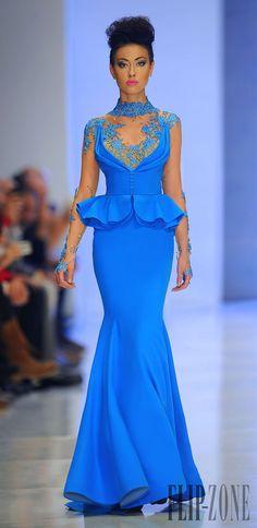 Fouad Sarkis Primavera-Verano 2014 - Alta Costura - http://es.flip-zone.com/fashion/couture-1/independant-designers/fouad-sarkis-4492