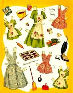 BH and girls...I love the cooking stuff, fun with Mom in the Fifties kitchen!