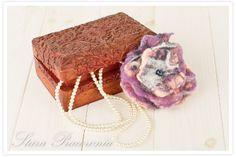 Filcowana broszka, broszka z filcu, filcowanie na mokro, biżuteria z filcu, filcowana biżuteria www.starapracownia.blogspot.com www.facebook.com/starapracownia