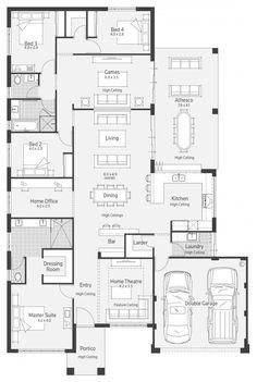 ArchipelagoII Display Home - Lifestyle Floor Plan