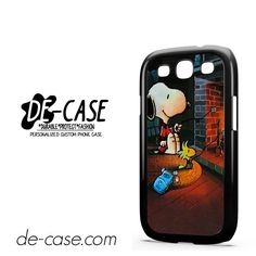 Snoopy DEAL-9741 Samsung Phonecase Cover For Samsung Galaxy S3 / S3 Mini