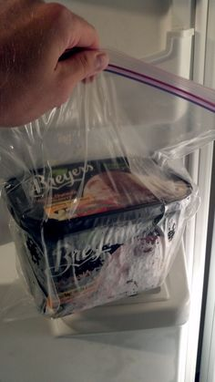 Found a method to keep ICE CREAM soft. It doesn't have to bend your spoon. As soft as when you first open it,  All you do is put it in a ziploc bag.