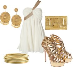 Greek goddess, created by leslieclaire1 on Polyvore
