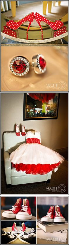 Rockabilly vintage themed wedding in Las Vegas