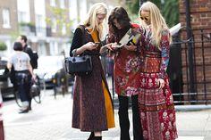 Street Style: London Fashion Week Spring 2016