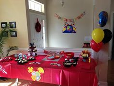 The final result - Toodles Birthday Party