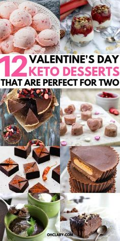 12 Keto Valentines Dessert Recipes That Are Perfect For Two 12 Keto Valentines Dessert Recipes That Are Perfect For Two,Keto Cheesecake Recipes 12 Romantic Keto Recipes For Valentine's Day. These sugar-free Valentines Day desserts. Dessert Bars, Dessert Mousse, Keto Valentines Day, Valentines Day Desserts, Keto Cheesecake, Cream Cheeses, Fudge, Chocolate Low Carb, Keto Recipes