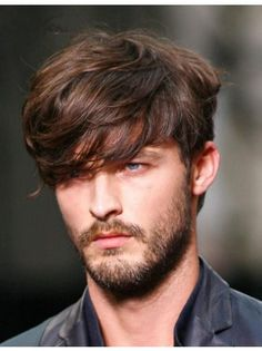 These are the most effective beard styles for men who are searching for some motivation on exactly how to shape their facial hair. Cultivate your true facial possibility by scoping our list of the best beard styles for men. Cool Hairstyles For Men, Hairstyles Haircuts, Haircuts For Men, Quick Hairstyles, Medium Hairstyles For Men, Boy Haircuts Long, Haircut Long, Shaggy Haircuts, Stylish Hairstyles