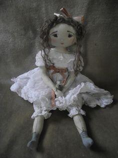 """Amélie..élue """"Miss froufrous 2014"""" ! (22 cm) - Le Jardin des Farfalous"""