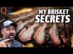 BBQ & Grilling Videos Texas Brisket, Bbq Brisket, Bbq Grill, Grilling, Smoke Grill, Fishing Knots, Steak, Beef, Cooking