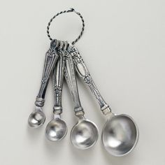 One of my favorite discoveries at WorldMarket.com: Vintage Measuring Spoons