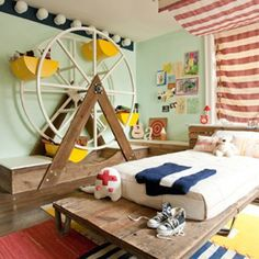 roomenvy - fairground children's room