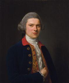 Portrait of a Gentleman 1769    Nathaniel Hone