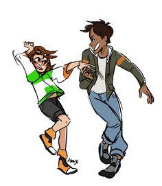 Lance and Pidge / Katie Holt