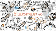 Der Leuchtfeuer MOOC startet am April 2017 Playing Cards, Studio, New Technology, Education, Light Fixtures, Projects, Game Cards