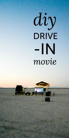 DIY drive-in movie campout.  Head out to IOP, Sullivans or Folly and set up your own movie theatre.  Bring popcorn. and candy.  #Family #Fun #ShermanFinancialMarkets