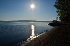 Twitter / ClaudiaMan: Lago di Bolsena