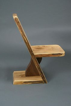 Spalted Maple with Black Walnut Chair image 1 Diy Furniture Chair, Diy Chair, Rustic Furniture, Woodworking Furniture Plans, Woodworking Projects, Walnut Chair, Spalted Maple, Diy Wood Projects, Chair Design