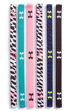 Under Armour Sport Headbands (6-Pack)