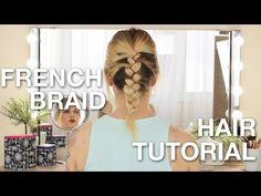 Εύκολη Γαλλική Πλεξούδα (i MIKRI OLLANDEZA) - YouTube