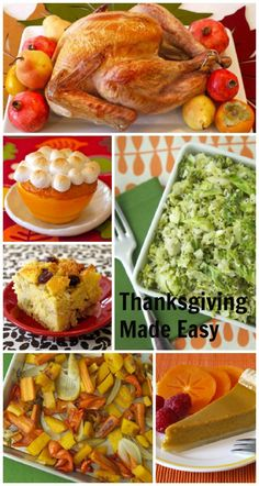 Thanksgiving Made Easy + Menu on Weelicious__Here's my Thanksgiving week at a glance and a breakdown of the menu I'll be preparing.
