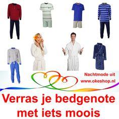 Verras je bedgenote met iets moois uit www.okeshop.nl