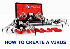 How To Create A Computer Virus | 3 Easy Ways - http://www.qdtricks.com/how-to-create-computer-virus/