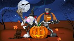 halloween backround for desktop hd - halloween category