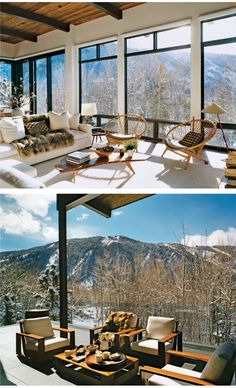 I'm sure this is on everyone's board - but for good reason. Aerin Lauder's CO home is a dream.