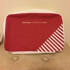 Philosophy Handbags - Philosophy cosmetics purse with 3 samples