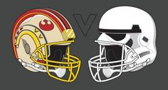 The Alliance Rebels v. The Galactic Imperials #StarWars