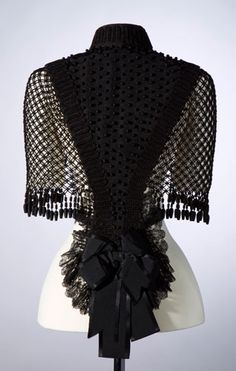 Cape, 1870s-1880s, made by CM Hotchkin Co. Chicago