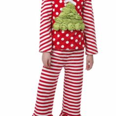 One Posh Kid Holiday Tree Stripes  from Freckles Children's Boutique for $79.00