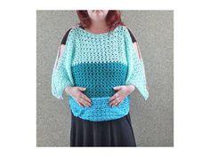 Pullover in 2 Varianten zum Häkeln für Kinder und Damen - Häkelanleitungen bei Makerist