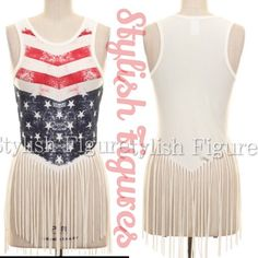 Arrives 5/30. American Flag tank top Arrives 5/30 American Flag Fringe Tank Top. Please comment with size if you would liked to get tagged when it arrives. Tops Tank Tops