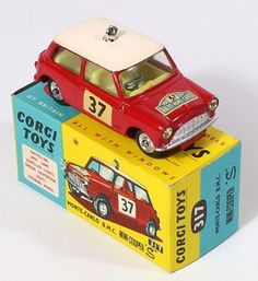 Corgi Toys 317 BMC Mini Cooper S  Pic. www.qualitydiecasttotoys.com