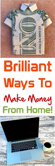 Making Money from Home!  Such genius ways to make money!