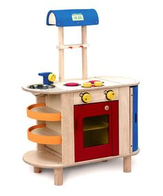 Take a look at this Cooking Center by Wonderworld on #zulily today!