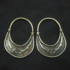 Bronze temple rings from medieval Slovenia from The Sunken City by DaWanda.com