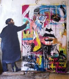 I pin contemporary abstract art paintings, portraits, sculpture & photography that use fluid art, pour-painting, or process art…INSPIRATION FOR MY O. Contemporary Abstract Art, Modern Art, Contemporary Portrait Artists, Jm Basquiat, Basquiat Artist, Jean Michel Basquiat Art, Basquiat Paintings, Photo Pop Art, Street Art