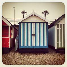 Beach huts, Essex