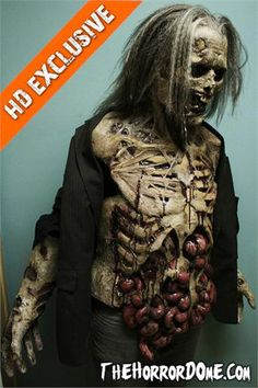 MOVIE QUALITY ZOMBIE LURKER STUDIO Halloween Costume Only from TheHorrorDome.com