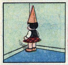 Nancy by Ernie Bushmiller Vintage Cartoon, Vintage Comics, Vintage Art, Arte Hippy, Sylvain Et Sylvette, Art Pulp Fiction, Pop Art, Old Comics, Comic Panels