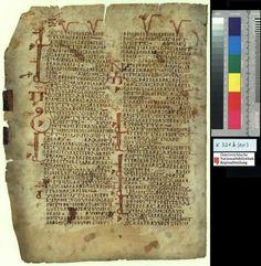 K 321 B Verso MONB.EG Apophthegmata Patrum