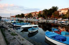 The port of Sozopol, Burgas BULGARIA