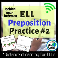 ELL Preposition Practice Distance Learning by ELL Breaking Barriers Teaching Strategies, Learning Resources, Student Learning, Teacher Resources, Esl Resources, Teaching Ideas, Phonics Rules, Phonics Lessons, Phonics Activities