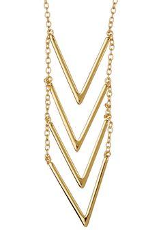 Love!  Gorjana 18K Gold Plated Morrison Necklace