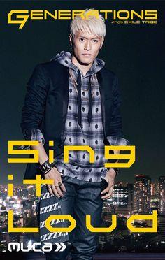 "GENERATIONS from EXILE TRIBE ""Sing it Loud"" 中務裕太 Nakatsuka Yuta"
